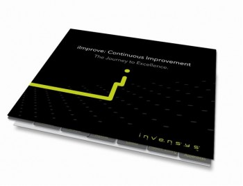 Picture of customised cover for Invensys